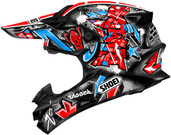 Shoei VFX-W Barcia Helmets MED Red Multi 0145-8401-05