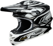 Shoei VFX-W Block Pass Helmet XLG Black 0145-8705-07