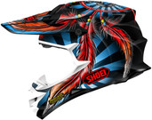 Shoei VFX-W Grant 2 Helmet LRG Red 0145-8801-06