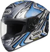Shoei X-Twelve Daijiro Kato Memorial Helmet XLG Blue/Silver 0112-2306-07