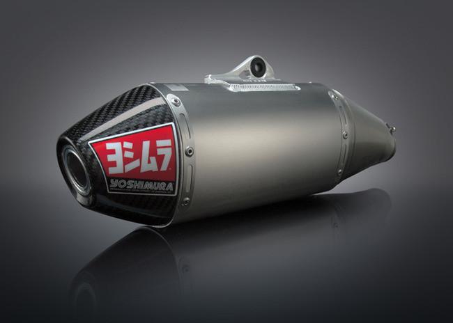 Yoshimura Offroad RS-4 Comp Series Carbon Fiber Dual Exhaust DRZ400