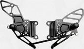 Vortex Adjustable Rear Set  Black  RS407K