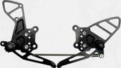Vortex Adjustable Rear Set  Black  RS503K