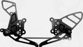 Vortex Adjustable Rear Set  Black  RS505K