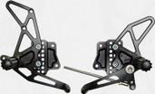 Vortex Adjustable Rear Set  Black  RS560K
