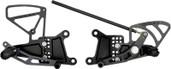Vortex Adjustable Rear Set  Black  RS603K