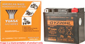 Yuasa High Performance Maintenance Free Battery GYZ15H YUAM716GH