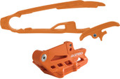 Acerbis Chain Guide/slider Kit Orange Ktm