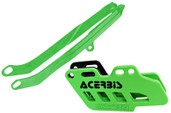 Acerbis Chain Guide/slider Kit Green Kawasaki