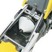 Acerbis Air Box Washing Cvr Honda White
