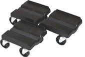 Supercaddy Dolly 3-piece Set (black)