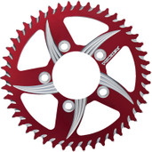 Vortex Cat5 Rear Aluminum Sprocket Red 36t