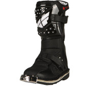 Fly Maverik Boots Black Sz Y13 363-56099
