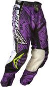 Fly Evolution Race Pant Purple/Black Sz 28s 365-13828S