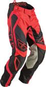Fly Evolution Rev Pant Red/Black Sz 28s 366-13228S