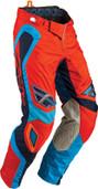 Fly Evolution Rev Pant Neon Orange/Blue Sz 28s 366-13928S