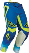 Fly Evolution Clean Pant Blue/Hi-Vis Sz 28s 367-13128S