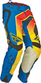 Fly Evolution Vertigo Pant Blue/Yellow/Black Sz 28 367-23128