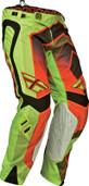 Fly Evolution Vertigo Pant Green/Red/Black Sz 28s 367-23528S