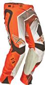 Fly Evolution Vertigo Pant Orange/Grey/Black Sz 28s 367-23728S