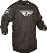 Fly Windproof Technical Jersey Black Large 367-800L