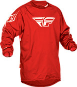 Fly Windproof Technical Jersey Red Medium 367-802M