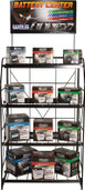 WPS Battery Rack Display Sign BATTERY RACK