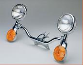National Cycle Light Bar Kawasaki Vn1500p Mean Streak Chrm N943