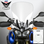National Cycle Vstream Windshield Fmr Ct Yamaha Clear Tenere N20306