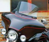National Cycle Vstream Windshield Harley Clr 15.25  Fltr N20422