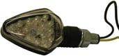 DMP Blunt Arrow 8 Led Marker Lights Black W/amber Lens 900-0041