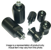 DMP 3 Pc Kit Blk No Cut Ninja 300r 755-4129