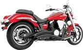 Freedom Exhaust Radius Black Yamaha Roadstar MY00082