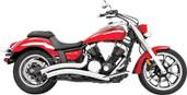 Freedom Exhaust Radius Chrome Yamaha Raider MY00083