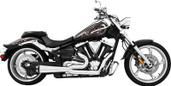 Freedom Exhaust 2 Into 1 Chrome/Black Stryker MY00130