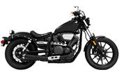 Freedom Outlaw Slip Chrome/Chrome Tip Yamaha Bolt Left MY00147