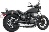 Freedom Outlaw Slip Chrome/Black Tip Yamaha Bolt Left MY00149