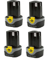 4 x Li-ion 10.8 V 1.5 Ah Battery Pack  B1242L to fit Acdelco and Durofix tools.jpg