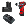 ARI1277 Li-ion 12V Impact Driver with AB1242L Li-ion 12V 1.5 Ah Battery Pack and ADC12US40-15 20 Min. Quick Charger with AFCS