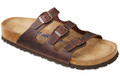 birkenstock florida habana oiled leather soft footbed