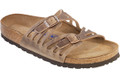 birkenstock granada tobacco oiled leather soft footbed