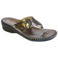 La Plume Faith Pewter Crocodile