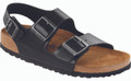 birkenstock milano amalfi black leather