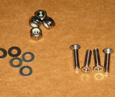 Hold Down, Screw Set S/S Screws, Nylocks, Washers..