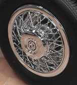 Wheel, Covers, MG Replica (Chrome) Spoke ABS (Sets)