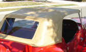 "Convertible Top with Side Curtain's,  MG Replica ""Classic Motor Carriages and Fiberfab"""