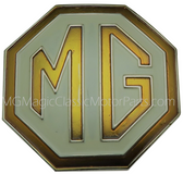 Grill Shell,  Medallion,  MG Replica (Gold)