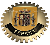 Badge, Espana