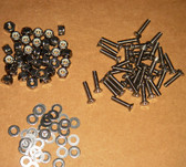 Exhaust, Stack Set, 72pc Screw Set (Gazelle / SSK)