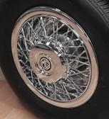 Wheel, Covers, MG Replica (Chrome) Spoke ABS (Each)
